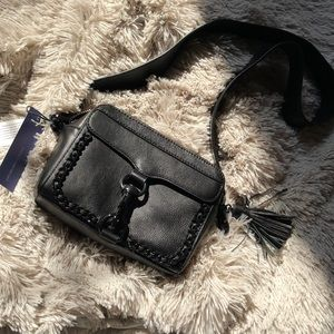 Rebecca Minkoff black camera bag